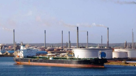 Curacao's Isla Refinery sits a mere 140 kilometres off Venezuela's northern coast. (PDVSA)